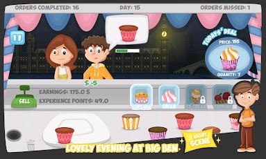 Cupcake Dash - 200 Exp Points Android Casual