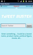 TweetBuster: Twitter Sentiment Android Tools