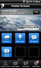 Salomon Powfinder Android Weather