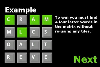 Word Matrix Android Brain & Puzzle