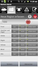 Wetter-Alarm® Android Weather