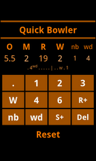 Cricket Scorebook Calculator Android Sports