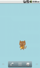 "walking Cat ""Chai"" Android Personalization"