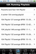 Running Playlist 1.2 Android Health & Fitness