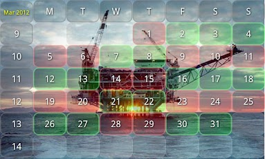 Work Shift Calendar Android Business