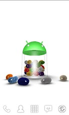 3D Jelly Bean Live Wallpaper Android Personalization