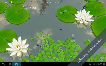 3D Lotus Live Wallpaper Android Personalization