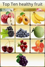 Top Ten healthy fruit Android Health & Fitness
