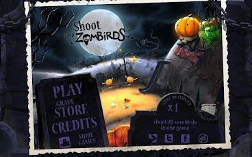 Shoot The Zombirds Android Arcade & Action