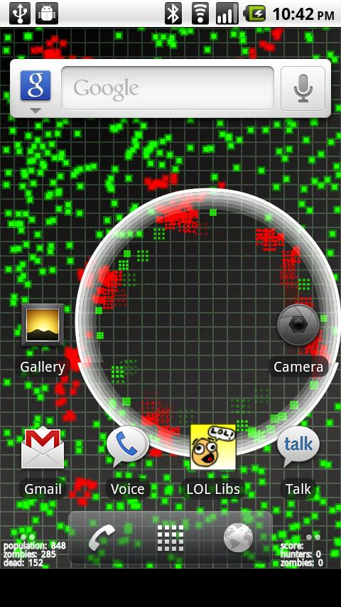 Pixel Zombies Live Wallpaper Android Personalization