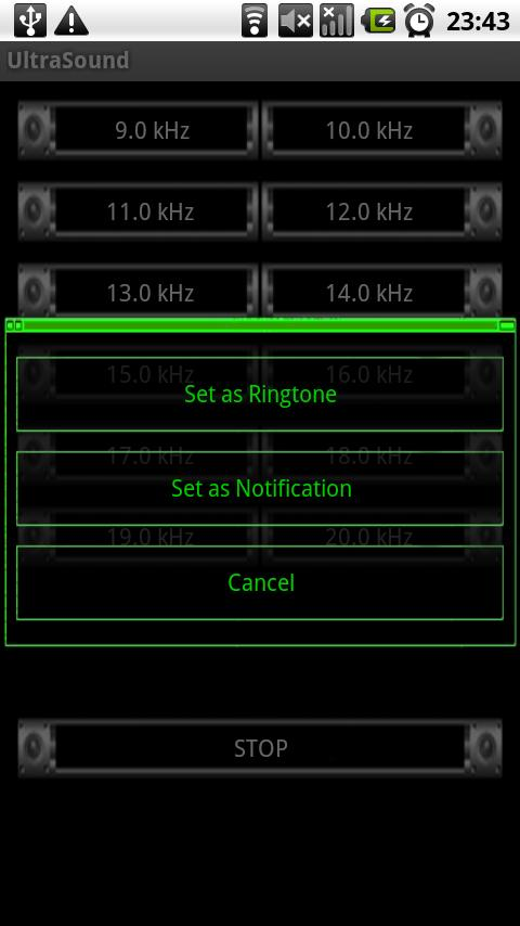 Mosquito sound(Ultra Sound) Android Tools