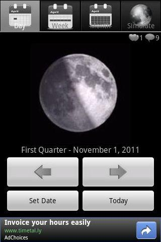 Moon Phases Lite Android Lifestyle