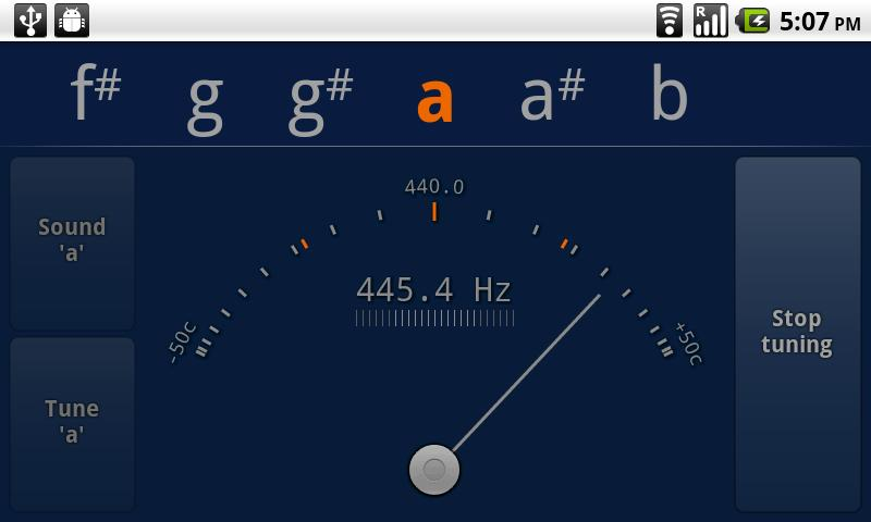 Tuner - gStrings Android Tools