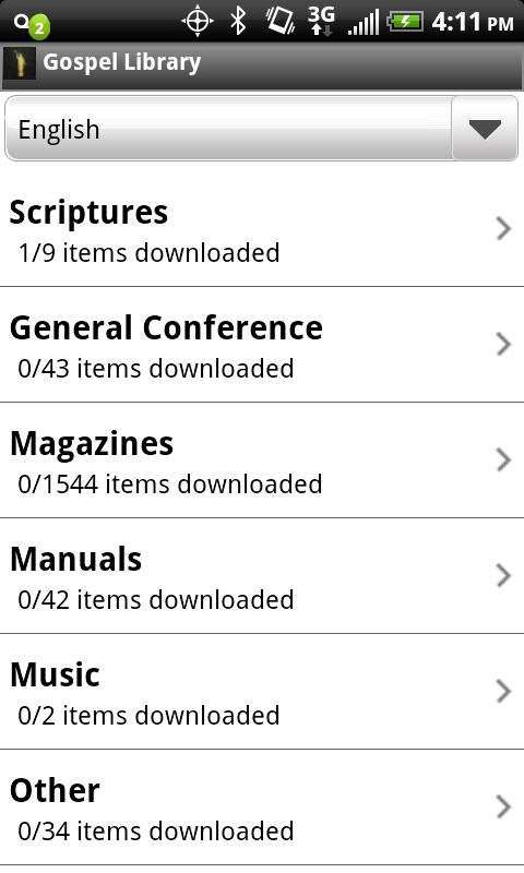 LDS Gospel Library Android Books & Reference
