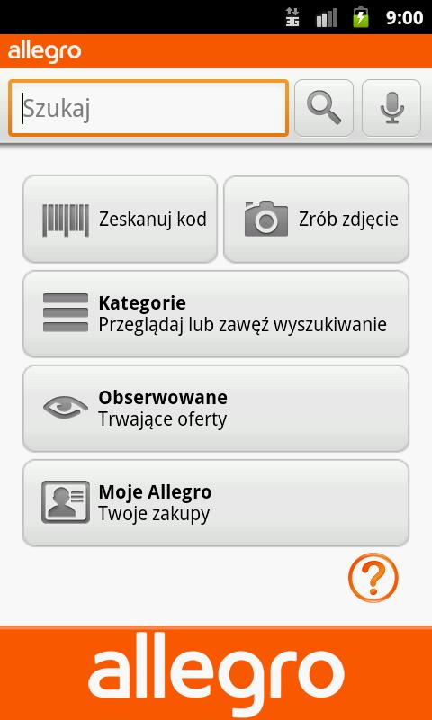 Allegro Android Shopping