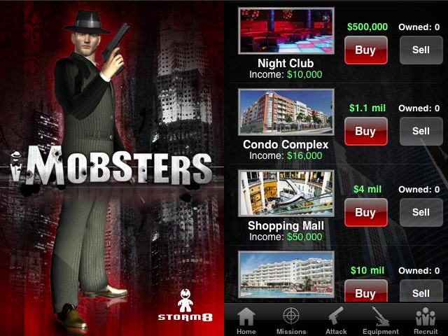 iMobsters Android App Review