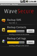 WaveSecure Backup