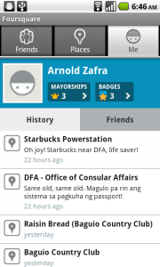 Foursquare for Android App Review