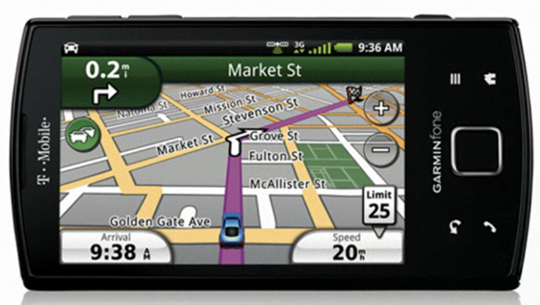The New Garmin GPS Android Phone