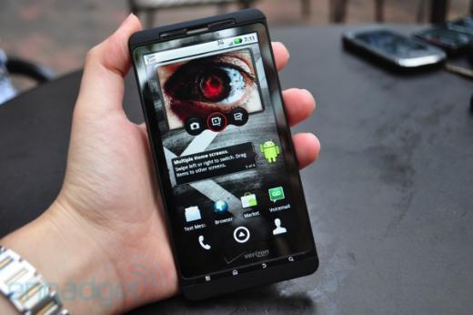 New Verizon Droid X Specs Confirmed