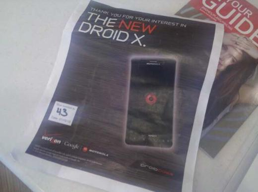 Motorola Droid X Already Selling Out, Verizon Faces Activation Problems