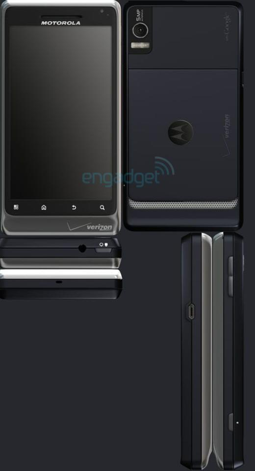 Teaser Site Code Leaks Images Of Motorola Droid 2