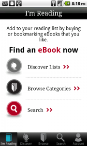 Borders Releases an Android eReader App, Kobo in Borders' Clothing