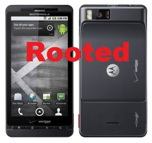Got Root? The Motorola Droid X Does
