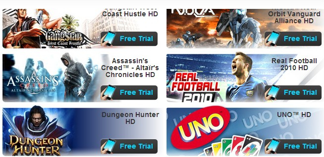 Gameloft Offers Direct Purchase of its Android Games Outside of the Android Market