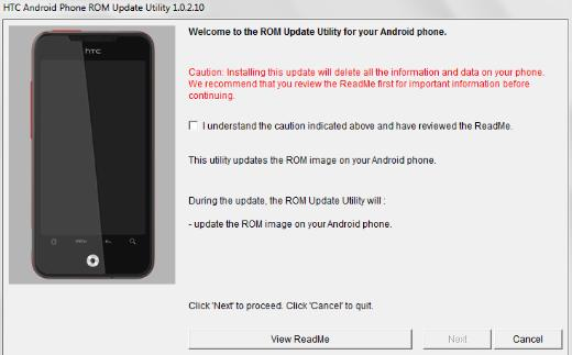 Android 2.2 Build Leaked For HTC Droid Incredible