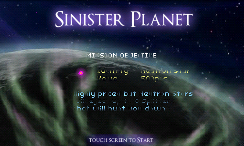 Sinister Planet Android App Review