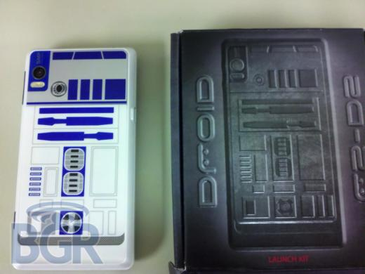 Special Edition Droid R2-D2 Dummy Units Appear in Verizon Wireless Stores