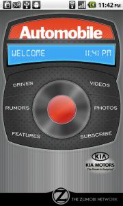 Zumobi's Automobile Magazine Android App Review