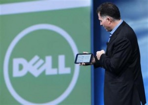 Dell CEO Shows Off its New 7-inch Android Tablet
