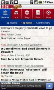 ElectionCaster Android App Review