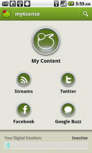 my6Sense Android App Gives You a Sensational Way of Reading and Sharing RSS Feeds