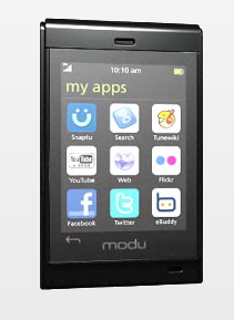 Modu T Brew-Based Phone Announced, Modu W Android Phone Coming Soon