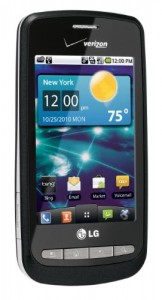 Verizon Releases the LG Vortex, Android 2.2 Inside