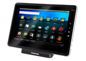 Toshiba Outs its Folio Android Tablet with Froyo