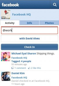 Facebook Android App Gets Places, Groups