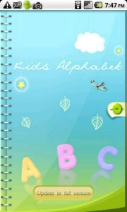 Kids Alphabet Android App Review