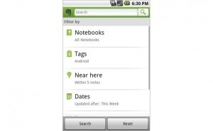 Evernote Android App Gets More Advanced Features