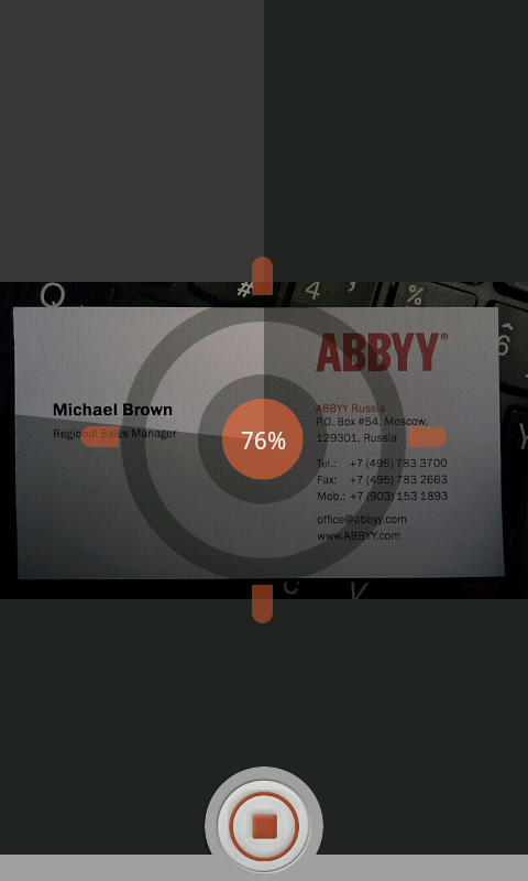Abbyy business card reader android app review android app reviews abbyy business card reader android app review if reheart Gallery