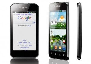 LG Optimus Black Android Phone Announced