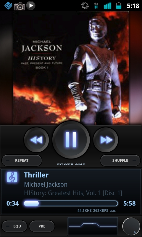 PowerAMP Android App Review: Best Music Player for Android