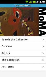 MOMA – Museum of Modern Art Android App Review