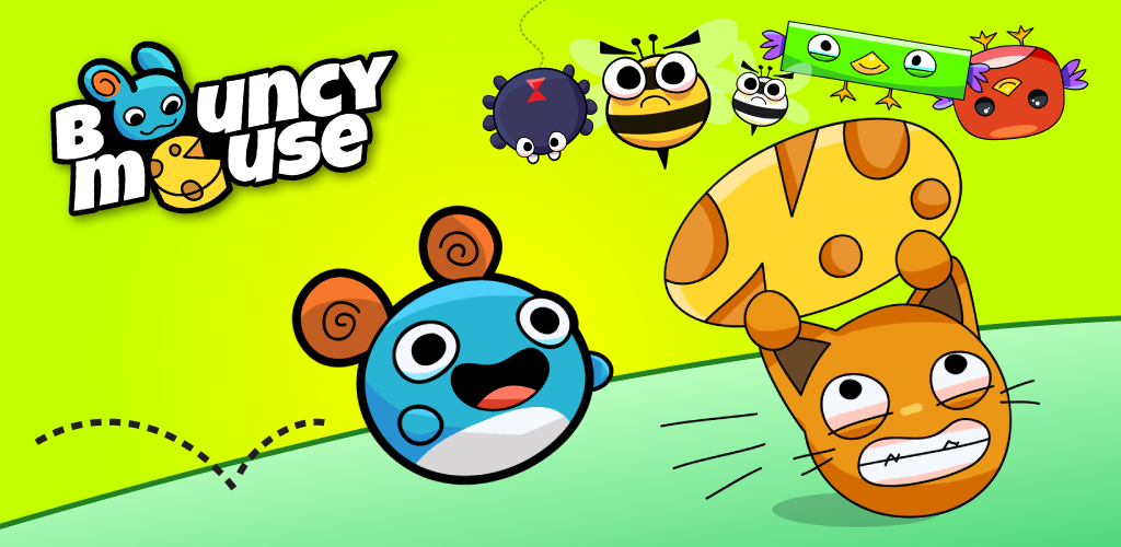 Bouncy Mouse – Android Game Review