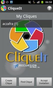 CliqueIt Photo Sharing App for Android Leaves Beta, More Features Added
