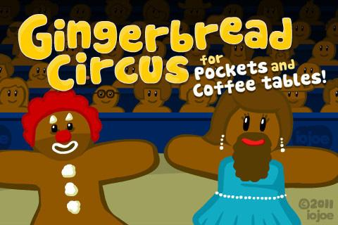 Gingerbread Circus – Android Game Review