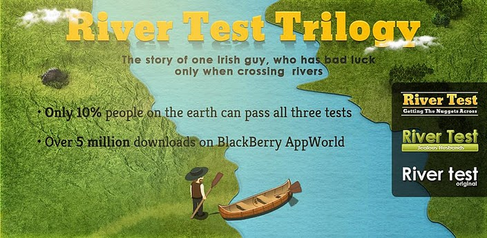 Strain Your Brain with River Test Trilogy from Solverlabs